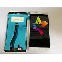 Дисплей для мобильного телефона Asus Zenfone 3 Laser/ZC551KL, золотой, с тачскрином, ORIG