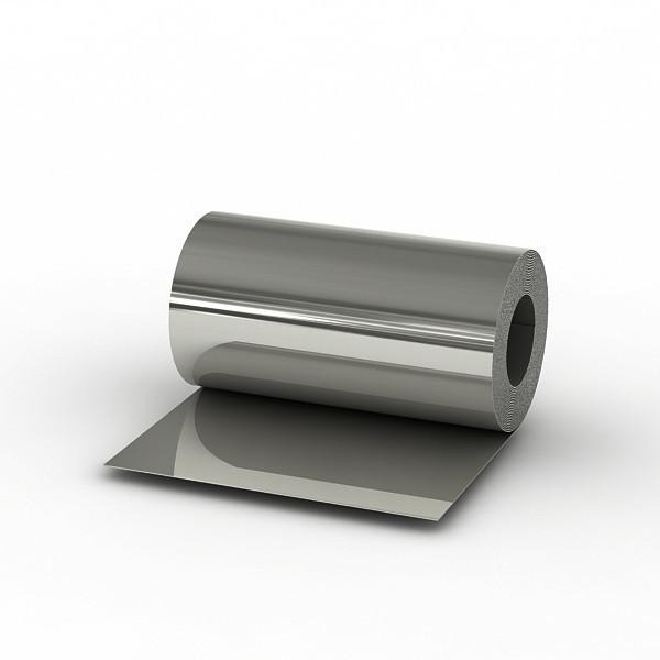 Сталь оцинкованная в рулоне 1,25 м 0,45 мм с полимерным покрытием