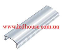 Рассеиватель из поликарбоната прозрачный для профиля серии-LP ( 2 метра) Premium