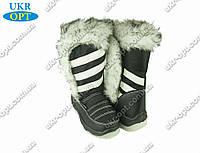 Детские сапоги черные (Код: ДББ-24)