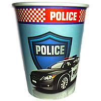 Склянки паперові Поліція