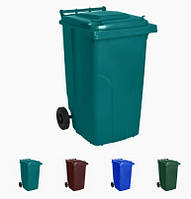 Бак для мусора на колесах 120л Алеана