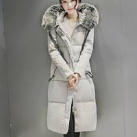 Молодежное зимнее женское пальто. Модель 62101