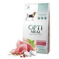 OptiMeal - корм с индейкой для собак средних пород  1.5 кг