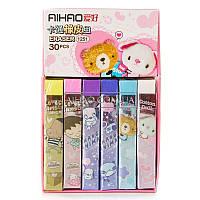 Ластик разноцветный фирмы Aihao