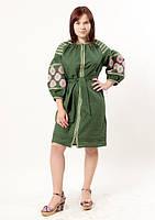 Женственное платье с вышивкой