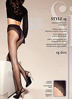 Колготки SISI Style 15 с ажурными трусиками, фото 1