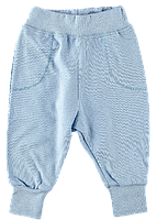 Штаны из нежного интерлока для мальчиков и девочек Ляля 10Т013 р.68-86