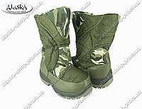 Детские сапоги камуфляжные (Код: ДББ-31)