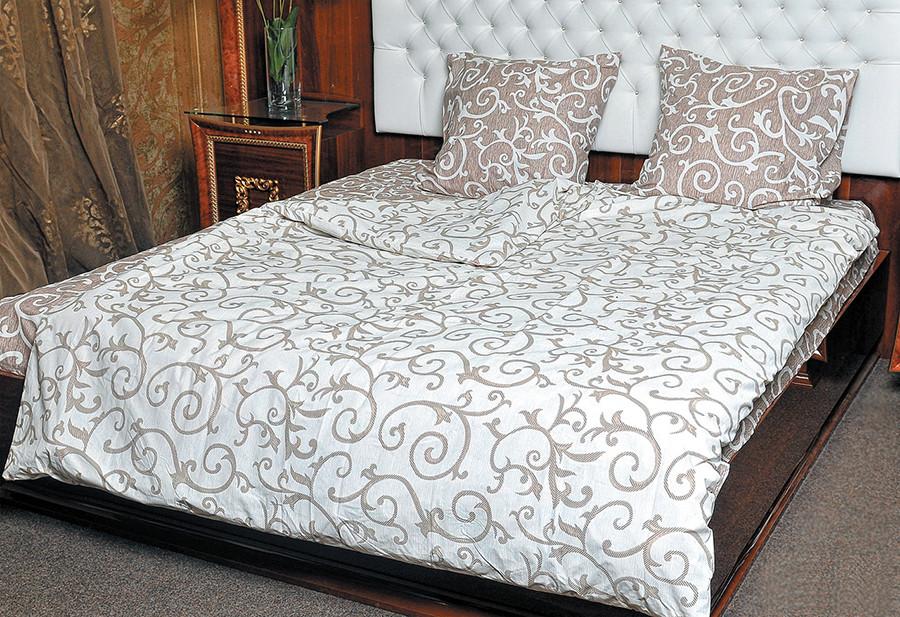 Постільна білизна двохспальна 180*220 бавовна (1703) TM KRISPOL Україна