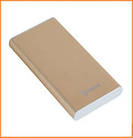 Портативное зарядное устройство Nomi M100 10000 mAh Gold