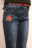 Осенние джинсы для девочек под резинку.  От 4 до 12 лет (116-152см.). Yilihao. Польша.