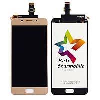 Дисплей для мобильного телефона Asus Zenfone 3s Max/ZC521TL, золотой, с тачскрином, ORIG