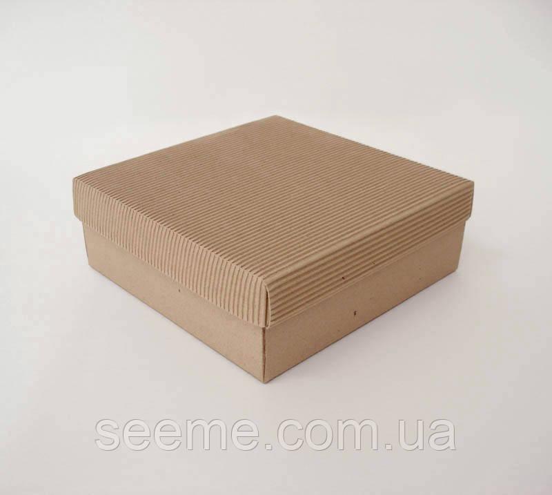 Коробка из микрогофрокартона, 200х200х70 мм.
