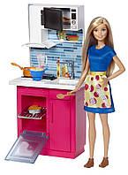 "Игровой набор  Барби ""Кухня""  Barbie Kitchen & Doll"