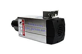 Шпиндель для ЧПУ 2,2 kw, ER25, воздушное охлаждение, 4 керамических подшипника, точность 0,01мм, фото 3
