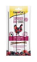 Gimcat Superfood Дуо-палочки с цыпленком и ягодами для кошек 3 шт (420578)