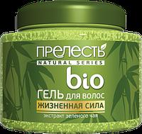 Гель для укладки волос ПРЕЛЕСТЬ БИО Зеленый чай сильная фиксация (250 мл)