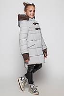 Зимнее модное пальто для девочки 104-158р.