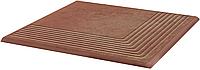 Плитка для ступени клинкерная Paradyz Cotto Natural Stopnica Narozna 30 x 30