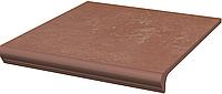 Клинкерная ступень Paradyz Cotto Natural Stopnica z Kapinosem prosta 30 x 33