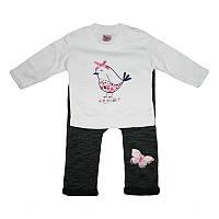 Костюм для девочки 74-92  2 кофточки,штанишки, арт.1049