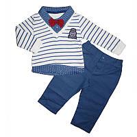 Костюм для мальчика 74-86 кофта+штаны арт.2646