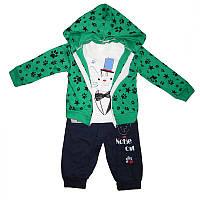 Костюм для мальчика 80-92 3-ка  2кофты+штаны арт.23