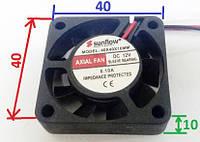 Вентилятор 12 V 40x40x10 (0.10A) Sanflow