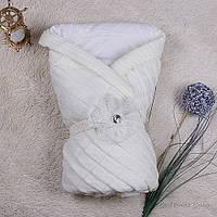 """Демисезонный конверт-одеяло """"Мечта"""" (айвори)"""