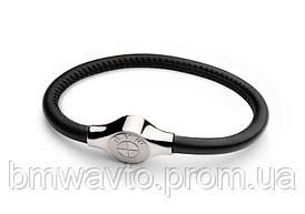 Кожаный браслет BMW Leather Bracelet, Unisex
