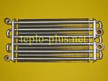 Теплообменник битермический 26-31 кВт L44629 Rocterm Emerald TE-B27, Ruby TR-B27, Praga 27-31 кВт, Apex 26 кВт