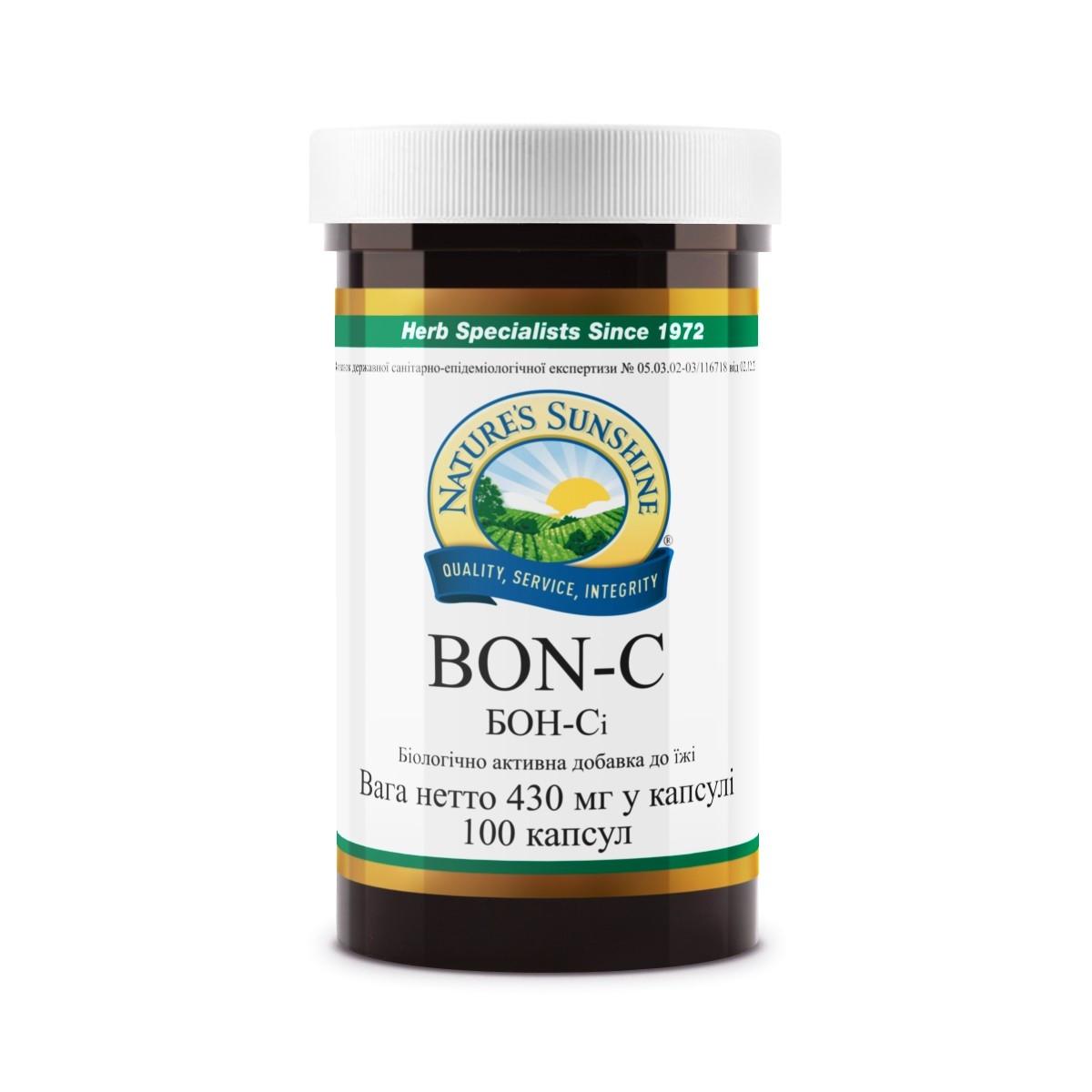 БОН-СИ бад НСП кальций с кремнием для волос, кожи и ногтей.