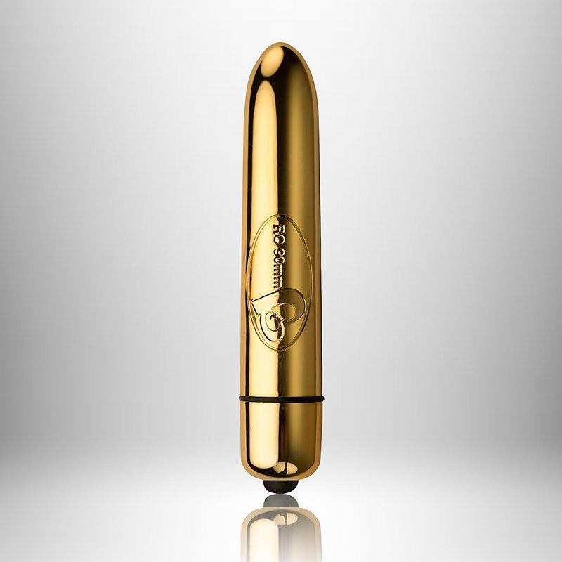 Вібратор RO-90mm 10 Speed GOLD