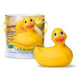 Вибромассажер I Rub My Duckie - Classic Yellow, фото 2