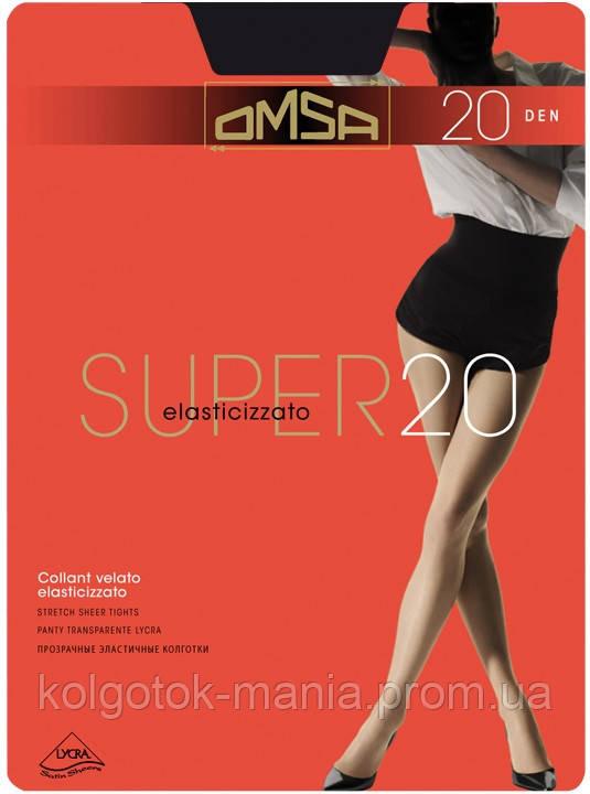 Колготки OMSA SUPER 20 с шортиками