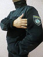 Кофта флісова з шевроном Поліція