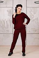 Костюм вязаный джемпер и брюки модный
