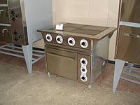 Плита электрическая ПЭ-0,48Ш 4-х конфорочная с духовкой