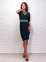 Изящное платье-футляр 2029-1