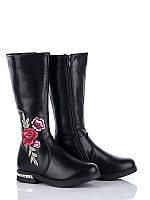 Демисезонная обувь Сапожки для девочек от фирмы Солнце(32-37)