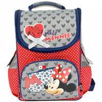 Рюкзак для девочек Olli Disney Miss Minnie OL-1015Mi Красный с серым