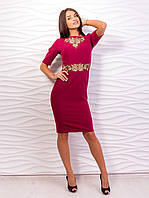 Изящное платье-футляр 2029-4
