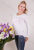 Блуза-туника трикотажная 406-осн705 норма оптом от производителя Украина