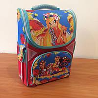 Рюкзак ранец ортопедический для девочек Украинка