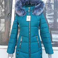 Зимняя подростковая курточка для девочек