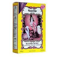 Хна-пудра «Золотистый блондин», Henne Color, 100г