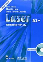 Рабочая тетрадь «Laser» третье издание, уровень (A1+) Beginner-Elementary, Malcolm Mann and Steve Taylore-Knowles   Macmillan