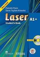 Учебник с онлайн поддержкой «Laser» третье издание, уровень (A1+) Beginner-Elementary, Malcolm Mann and Steve Taylore-Knowles | Macmillan