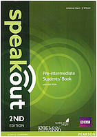 Учебник «Speakout» второе издание, уровень (A2) Pre-Intermediate, JJ Wilson | Pearson-Longman